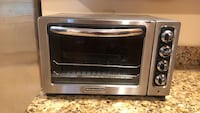 KitchenAid stainless steel and black toaster oven Triangle, 22172