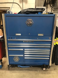 blue and gray tool cabinet Greenfield, 46140