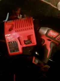 Milwaukee  impact and charger no battery