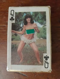 Vintage Nude Playing Cards