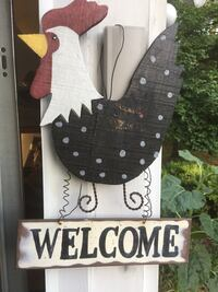 Metal chicken wall sign Glenwood, 21738