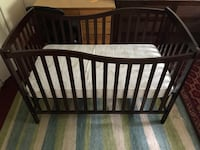 Baby brand new crib and mattress, few days used, with Riverdale, 20737