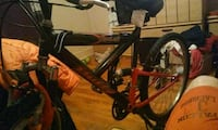black and red hardtail mountain bike Reidsville, 27320