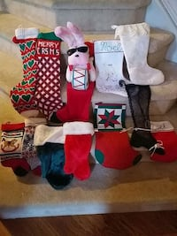 Christmas stocking collection Cooksville, 21723