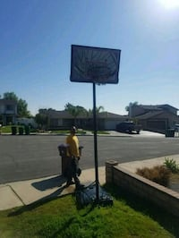 Portable basketball  U must pick up, first person.  Located in Mo Val.