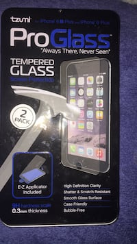tempered glass iphone. 6s plus nd iphone 6 plus Raleigh, 27610