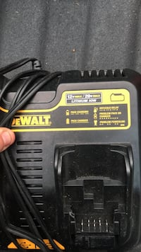 black and yellow DeWalt battery charger Frederick, 21701