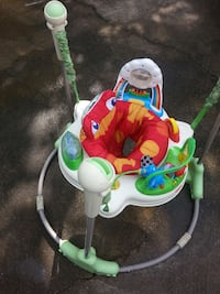 baby's white, red, and green Fisher Price jumperoo Birmingham, 35209