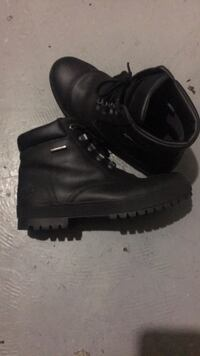 Size 7.5 Black Leather Timberland Boots New Carrollton, 20784