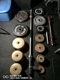 WEIGHT PLATES & BARS