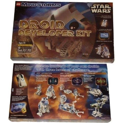 Lego Star Wars Mindstorms Droid Developer Kit #9748  Excellent Condition!  Used once.  All pieces are in the box.  Please create a Droid hundreds of your own by using the three levels of Jedi apprentice, Jedi Knight, Jedi master, of these issues. As a bra