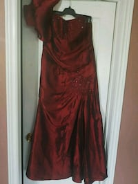 red spaghetti strap maxi dress Toronto, M1E 4W7