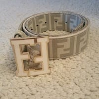 White cream fending belt 503 mi