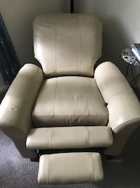 Leather recliner and rocker in one Morristown, 07960