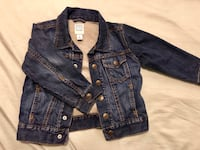 Toddler Denim Jacket Medium indigo
