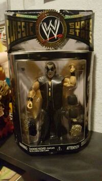 WWE The Sting action figure pack