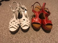 Bra vs and wedges bra 40D wedges shoes 12 drop me a line I can trade too  Middletown, 19709