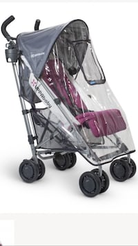 Uppababy G-luxe stroller with rain guard  Coquitlam, V3J 4E5