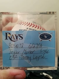 Red sox vs Rays baseball (Authentic) Norfolk, 23503