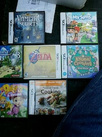 7 different DS games 449 mi