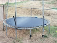 Large trampoline with safety net Auburn, 98001