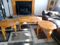 Set of 3 Living room tables.   Clarksville, 37042