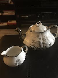 Tea pot and creamer Toronto, M5A 0C4