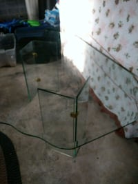 Heavy all glass beveled table  Greencastle, 17225