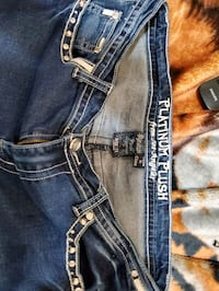 womens  platinum plush Jean's