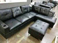 LEATHER SECTIONAL WITH OTTOMAN!! Carrollton, 75006