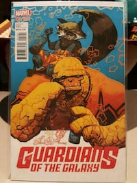 #1 Guardians of the Galaxy comic book Marvel Rocket Raccoon Thing