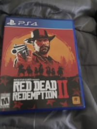 Red dead redemption 2 ps4 brand new  1365 mi