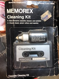 Memorex Cassette Cleaning Kit Rockville, 20853