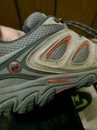 Merrell shoes!  Size 12 means.  No tips or tears. Great shape. Ankeny