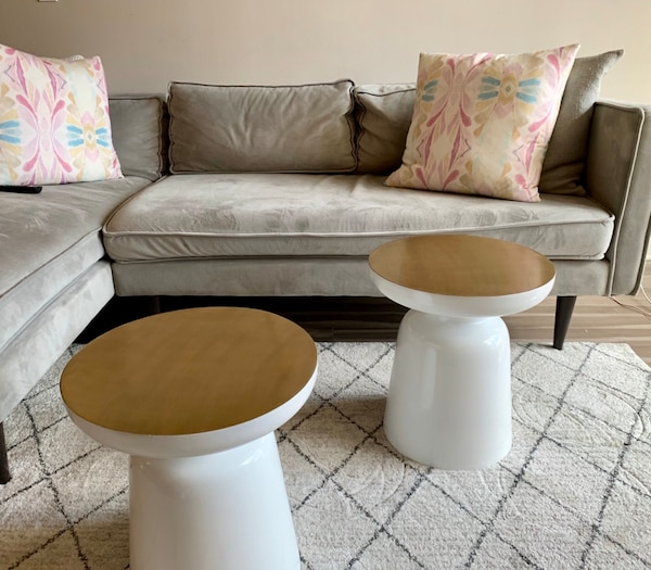 West Elm Martini Tables - set of 2