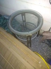 Excellent glass top table