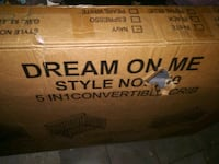 Dream On 5 in 1 convertible Crib New in box Largo, 33771