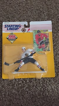 Chris Chelios starting lineup figure, new and sealed Gilbert, 85298