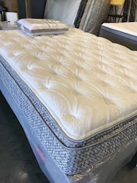 Mattress Sets Must Go **King**Queen**Full**Forty Dollars Down**90 Days to Pay