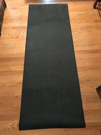 "Yoga mat- barely used 1/4"" thick yoga mat."