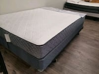 Brand New Queen mattress+box. DELIVERY 50 Edmonton, T5H 3H4