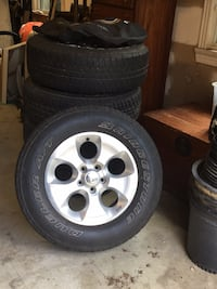 Original Jeep Wrangler Sport Wheels & Tires Mc Lean, 22101