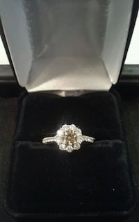18K Gold and Champagne Diamond RIng I-17164