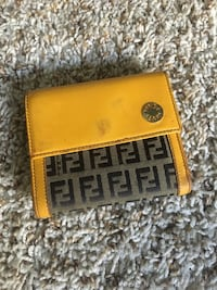 Fendi Leather Wallet Los Angeles, 90066
