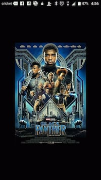 Early Screening Passes to Marvel's Black Panther North Charleston, 29406