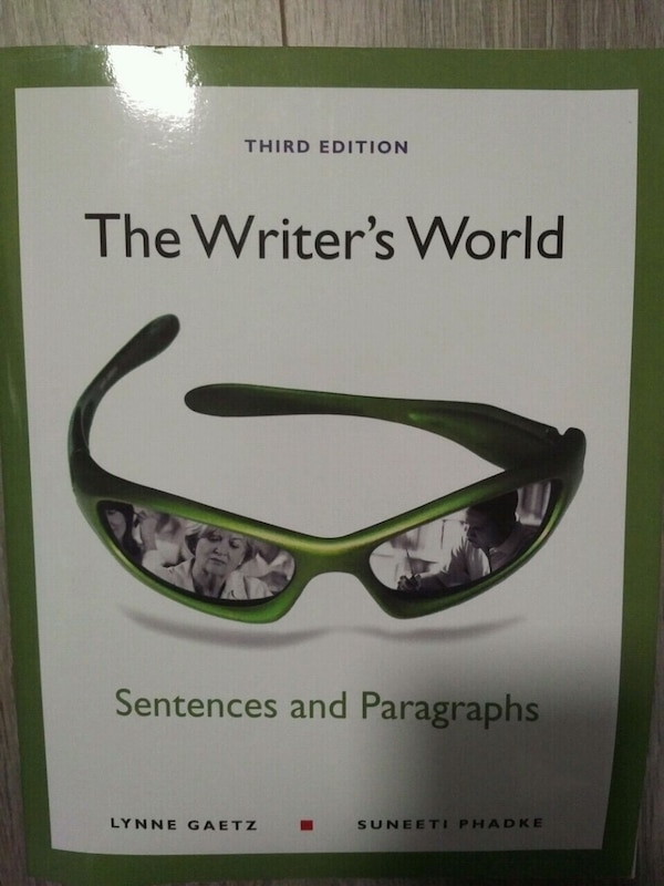 The Writer's World - Sentences and Paragraphs - th