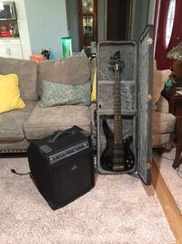 Guitar and amp with case South Bend, 46614