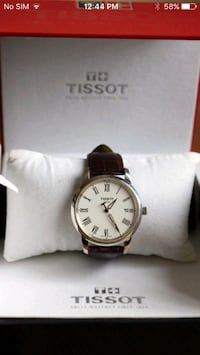 Tissot Analog Classic Dream Stainless Steel Leather Strap Men's Watch Edmonton, T5N 1L1
