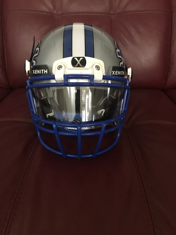 super popular 391df 6c835 Used Detroit Lions Xenith Football Helmet for sale in Tracy ...