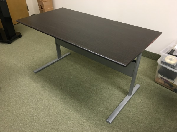 used ikea fredrik desk black brown for sale in fort lee letgo rh gb letgo com ikea fredrik desk price ikea fredrik desk review